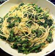 Broccoli rabe and garlic
