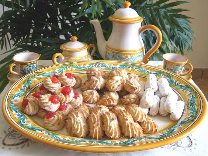 Orange almond cookies recipe